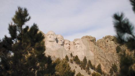Mount Rushmore National Memorial, Dakota du Sud