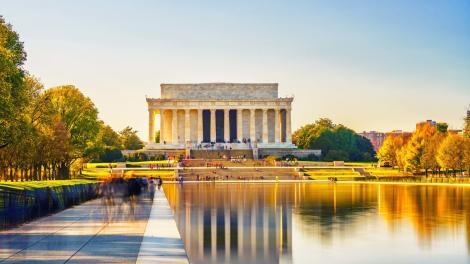 Le Lincoln Memorial sur le National Mall à Washington, D.C.