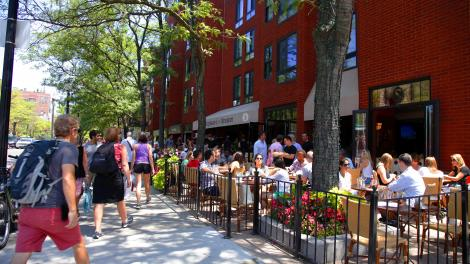 Repas En Terrasse Boston Massachusetts