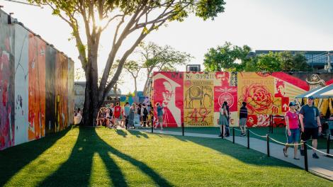 Découverte de l'art public dans le quartier Wynwood de Miami, Floride