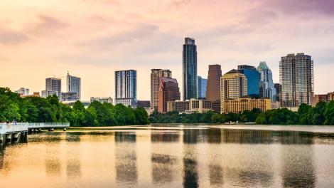 Les gratte-ciel d'Austin, Texas