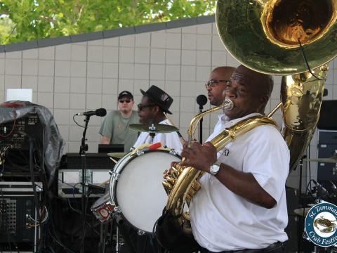 Souper et musique lors du St. Tammany Crab Festival