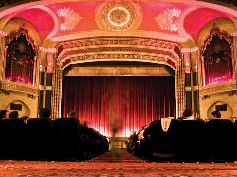 L'Oriental Theater, le site du festival du film de Milwaukee