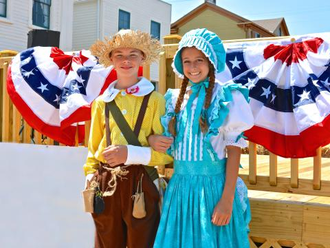 Rencontrez Tom et Becky en personne lors du festival Twain on Main