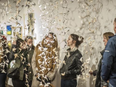 Une exposition pendant la semaine des arts de Denver