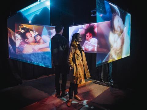 Expérience cinématographique multimédia pendant le Festival du film de Tribeca