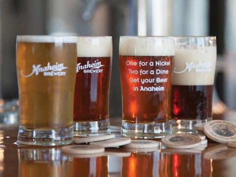 La bière artisanale fait partie des nombreux petits plaisirs du festival Taste of Anaheim