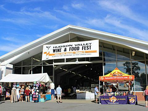 L'entrée alléchante du Rhinebeck Hudson Valley Wine & Food Fest