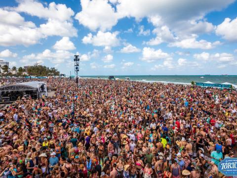 Affluence record au festival de musique Tortuga
