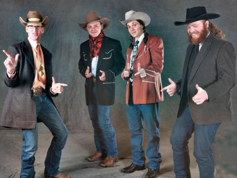Plaisanteries et pitreries au Genoa Cowboy Festival