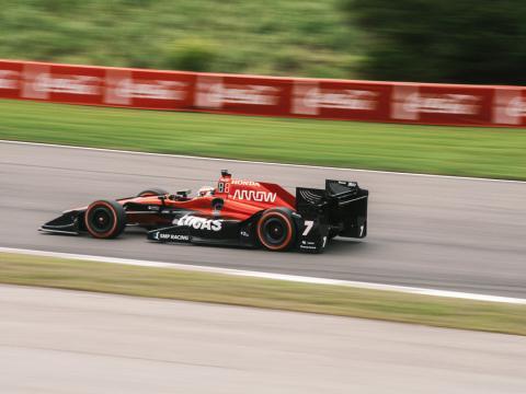 Concurrent de la course automobile Honda Indy Grand Prix