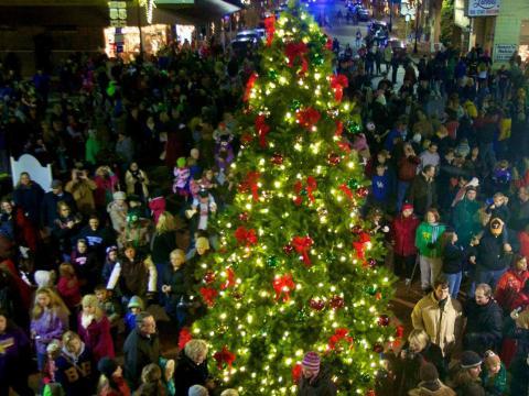 Sapin de Noël à Bardstown, Kentucky