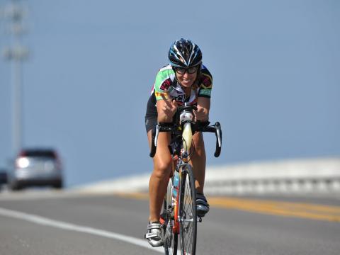 L'événement de cyclisme Katie Ride for Life à Amelia Island, Floride