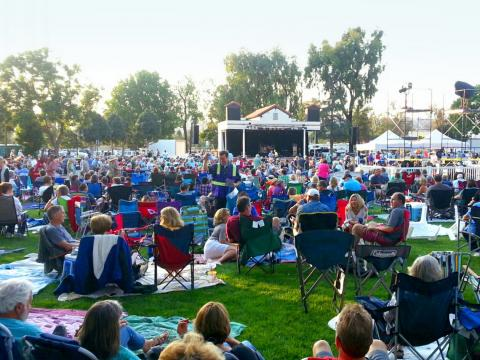 Des concerts en plein air en été avec la série Camarillo Arts Council Summer Concerts in the Park