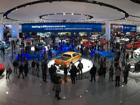 Salon international de l'automobile d'Amérique du Nord à Détroit