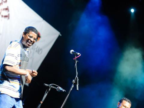 Concert lors du Marshland Festival