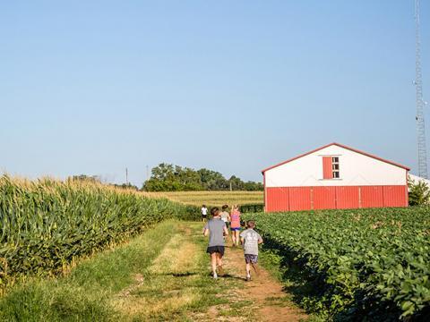 Peach Jam Festival & 5K de Mulberry Orchard à Shelbyville, dans le Kentucky