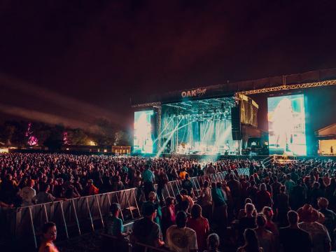 Concert lors du Bourbon & Beyond Music Festival à Louisville, Kentucky