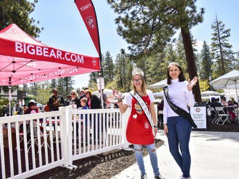 Des participantes au concours du Big Bear Grill & Chill