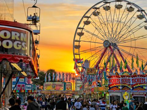 La South Florida Fair à West Palm Beach, en Floride